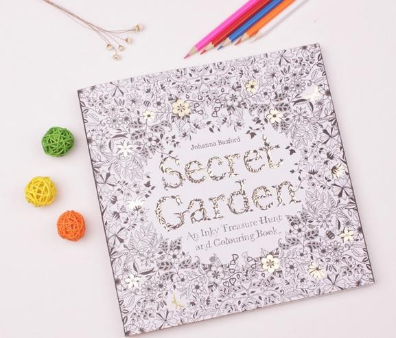 Secret Garden Coloring Book Hot Sale By Johanna Basford For Kids Adult Relieve Stress Picture Of A Publishers From
