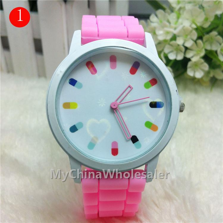 14 Different Colored Shadow Band Watch Rubber Material New Shadow ...