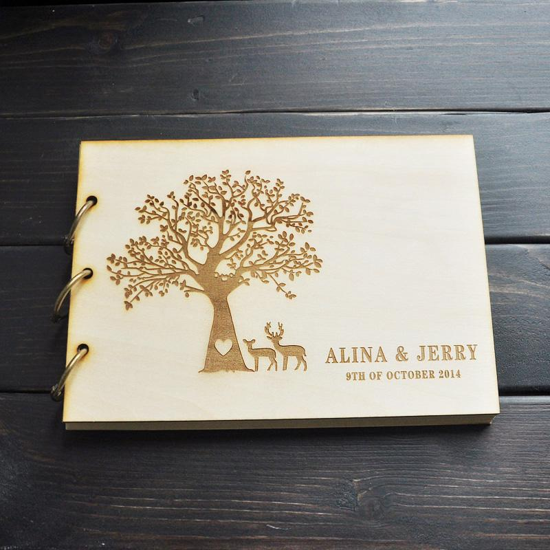 custom wedding guest book engagement anniversary gift wedding guestbook guest book sign book a5 guest book wedding guest book guest book rustic