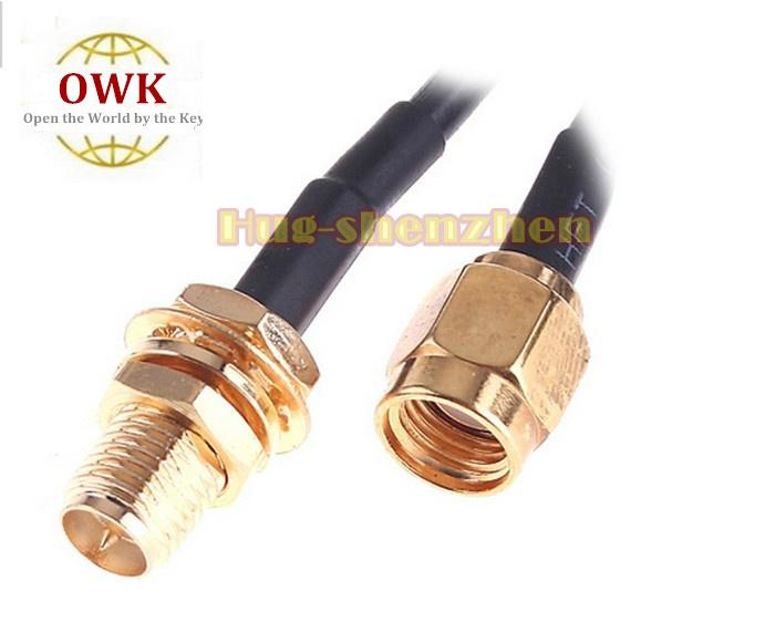 3M WiFi Antenna RP-SMA Extension Cable for Wi-Fi Router hot sale
