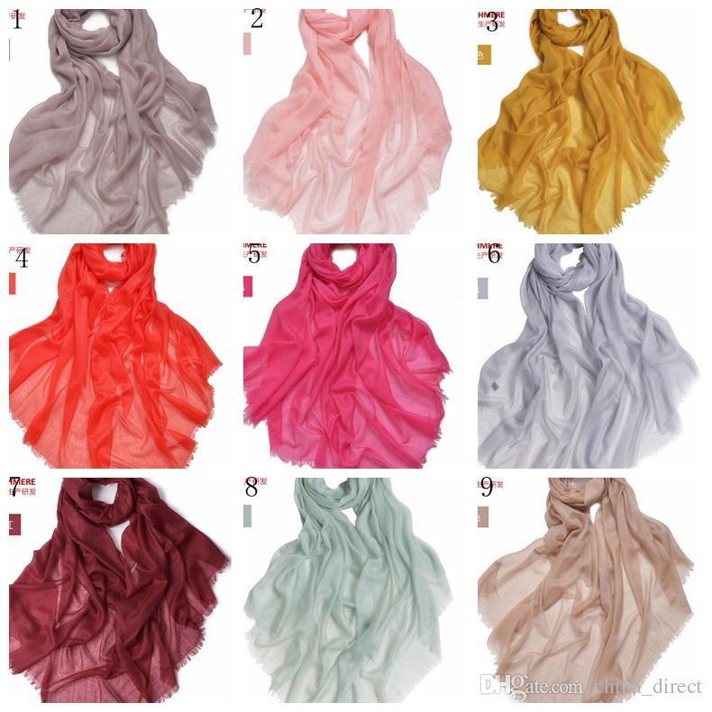 Элегантный Внутренняя Монголия 100% 300 кашемировая шерсть шарф шаль Wrap женские девушки дамы шарф Рождественский подарок 230*100 см 60грамм 2 шт./лот #3962