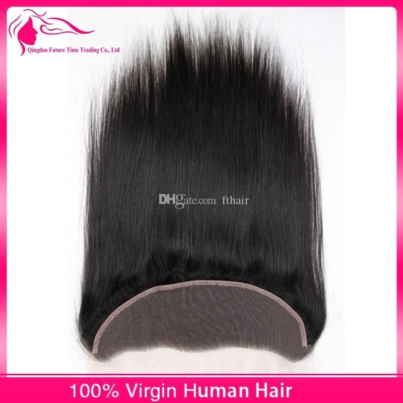 Peruvian Silky Straight Hair Weaves With Full Lace Frontal Closure Free Parting 13x4 Lace Frontal With Human Hair Bundles