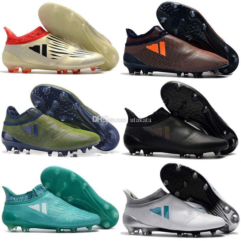 outlet store 5a238 1dd8c 2017 ace 17 Purecontrol mens football soccer shoes X 16 Purechaos FG AG  cheap soccer cleats authentic football boots original messi shoes