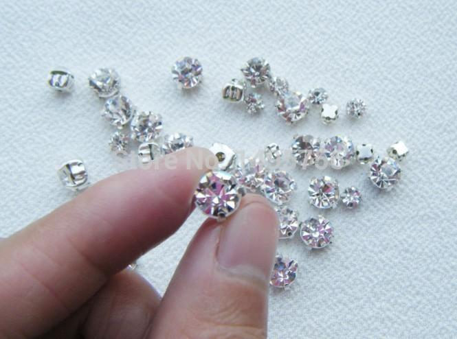 2642b75ce Bag 888 Stone Clear Crystal Sew On Rhinestones Flatback Claw For Sewing  Garment Beads Decoration From Xinmili, $8.85 | DHgate.Com