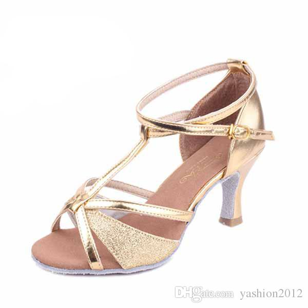 Brand New Women's Modern Ballroom Latin Tango Dance Shoes for momen heeled comfortable Girl lady 3 colors 255
