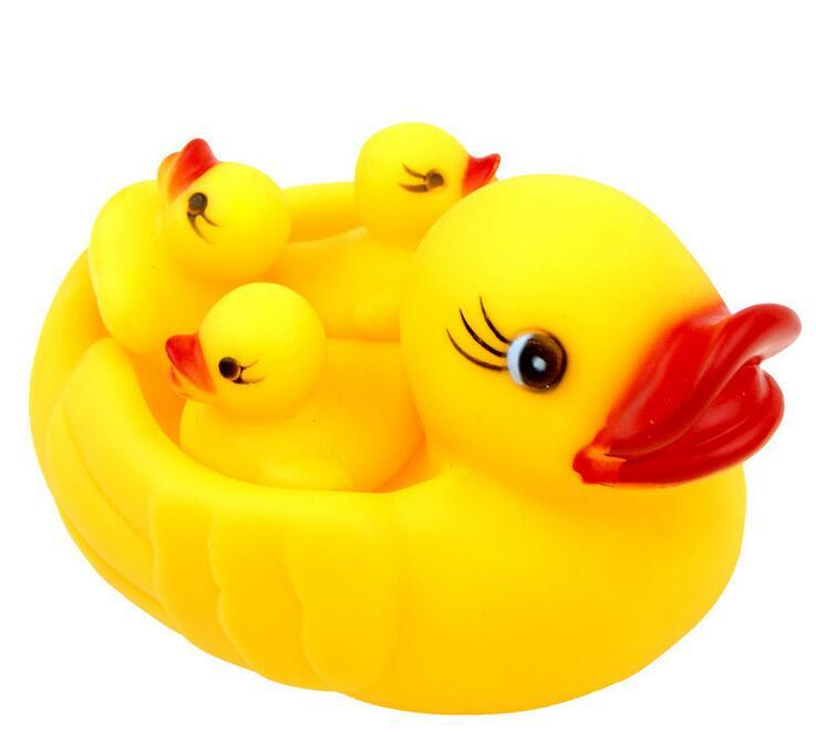 Take a shower yellow duck toy Infants and young children squeezed called bath toys street source of selling toys wholesale To report Purchas