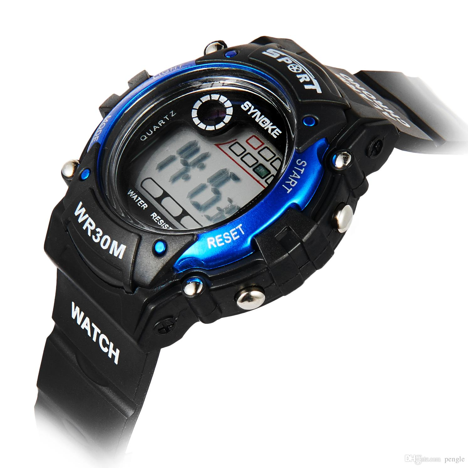 Hot Sale Fashion Watches Casual Watches Luminous Watches PU Strap Wristwatch For Boys Gift