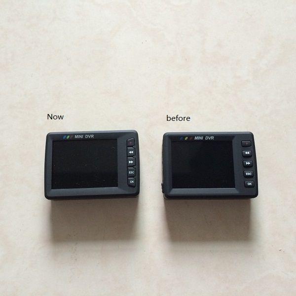 "Original Angel Eye KS-750M 2.7"" LCD TFT screen Button Mini DVR Motion Detection mini video recording system button DVR Car DVR"