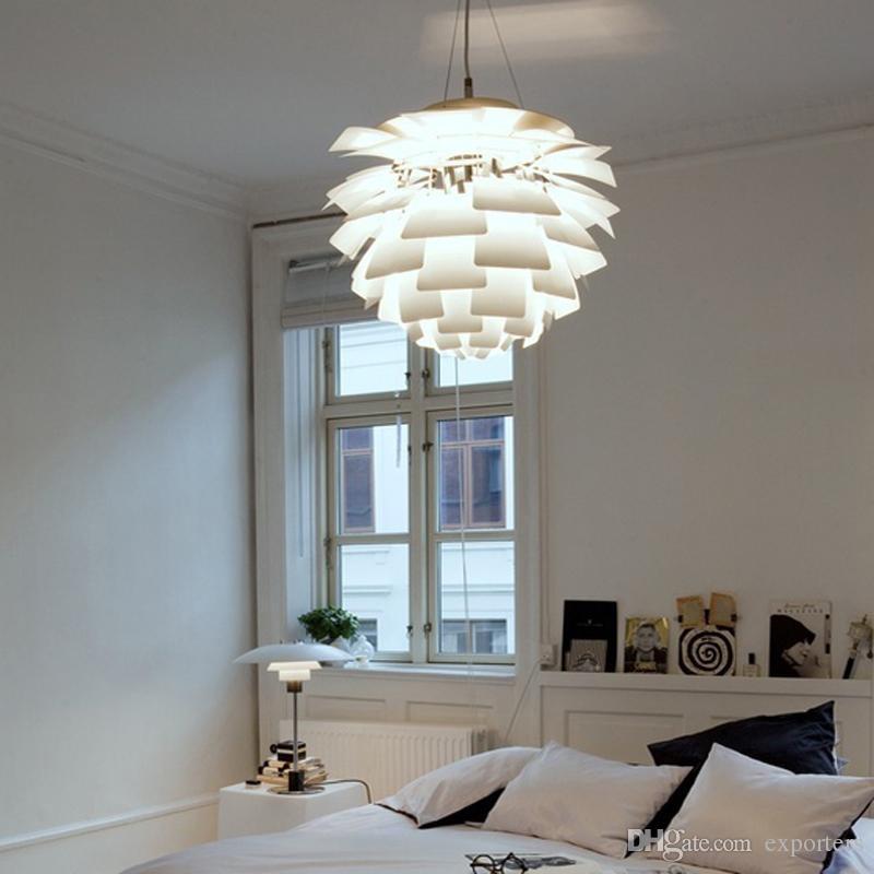 덴마크 루이스 폴센 PH 아티 초크 LED 펜던트 램프 파인 콘 Droplight 빛 샹들리에 램프 볼 조명 된 pinecone