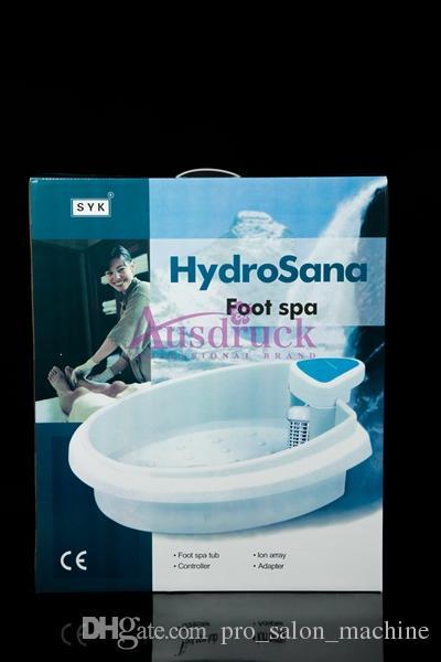 Lågpris Markdown Helt ny hälsovårdsenhet jon jonisk detox fot spa badkar Badrengöring spa maskin