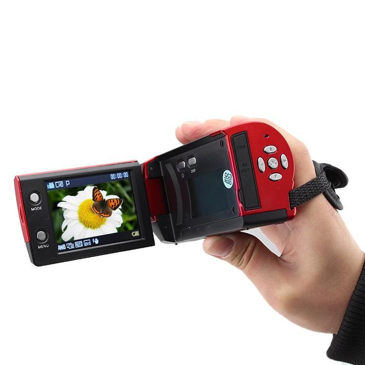 Бесплатная доставка C6 камера 720P HD 16MP 16x Zoom 2.7 '' TFT ЖК-дисплей цифровая видеокамера камеры DV DVR черный красный горячий по всему миру