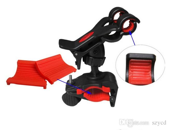 Universal Suporte de Telefone Da Bicicleta Da Bicicleta Handle Mount Cradle Titular Suporte Celular Caso Motocicleta Guiador Para Celular GPS