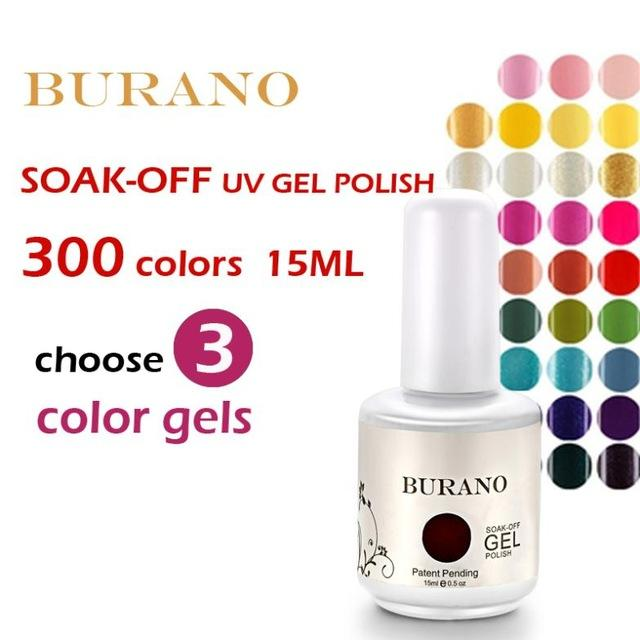 Nails Tools Nail Gel Burano Choose Uv Nail Soak Off Uv Gel Polish ...