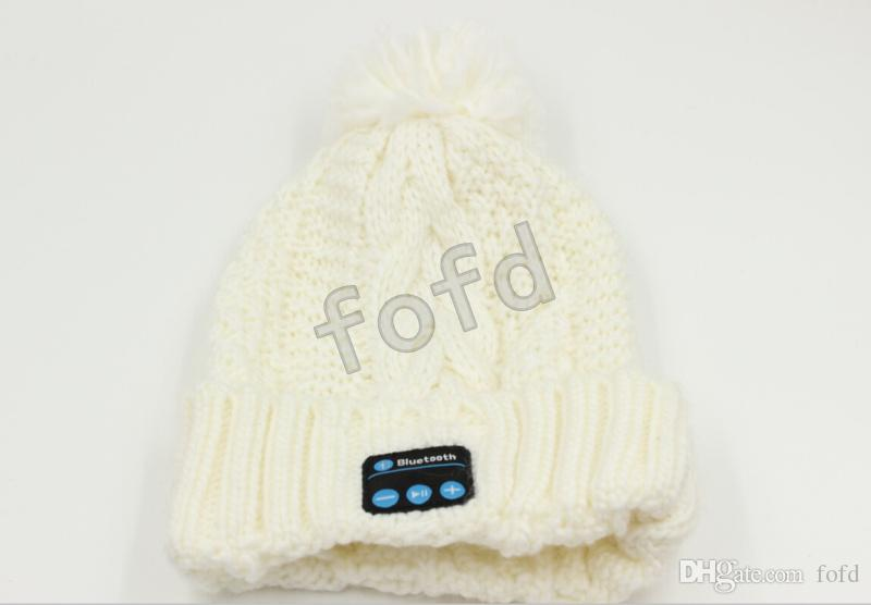 New Arrival Bluetooth Beanie Music Hat Cap Knitted Winter Magic Hands-free MP3 Hat for Woman Men Smartphones
