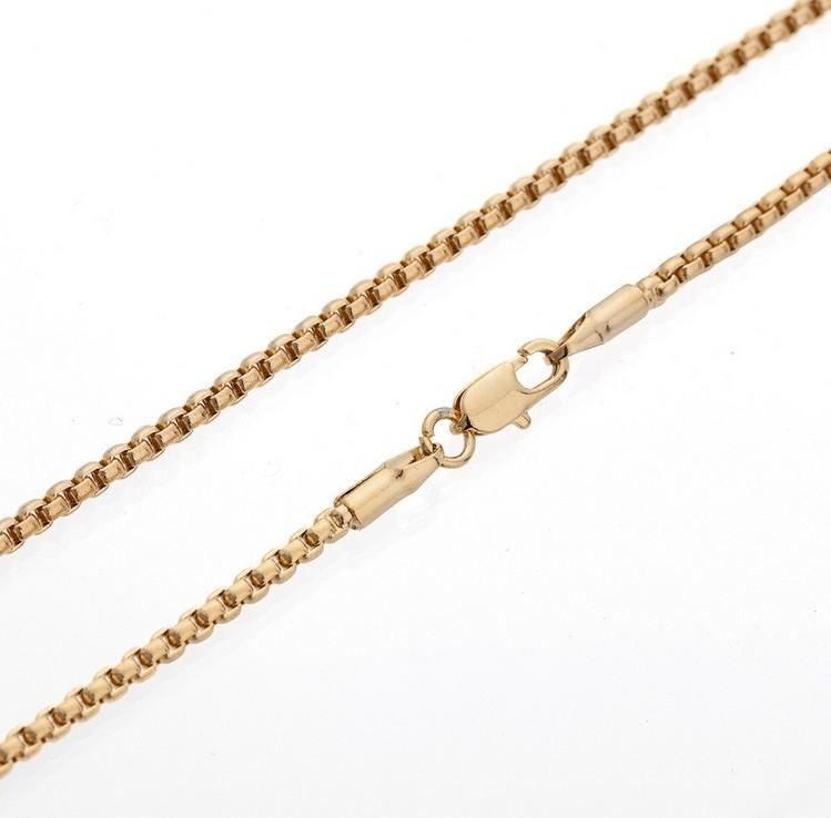 sterling gold chains plated chain spiga silver