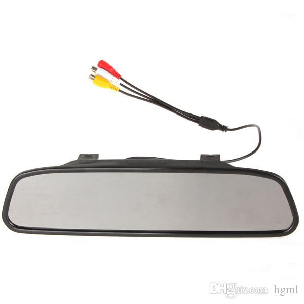 4.3 Inch Color Digital TFT-LCD Screen Car Rear View Mirror Monitor Night Vision Camera with 170 Degrees WidCMO_334