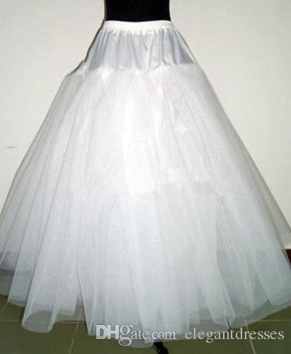 2020 Petticoats do sukni kulkowych Regulowane Rozmiary Crinoline Akcesoria dla nowożeńców Underskirt for Wedding Prom Quinceanera Sukienki