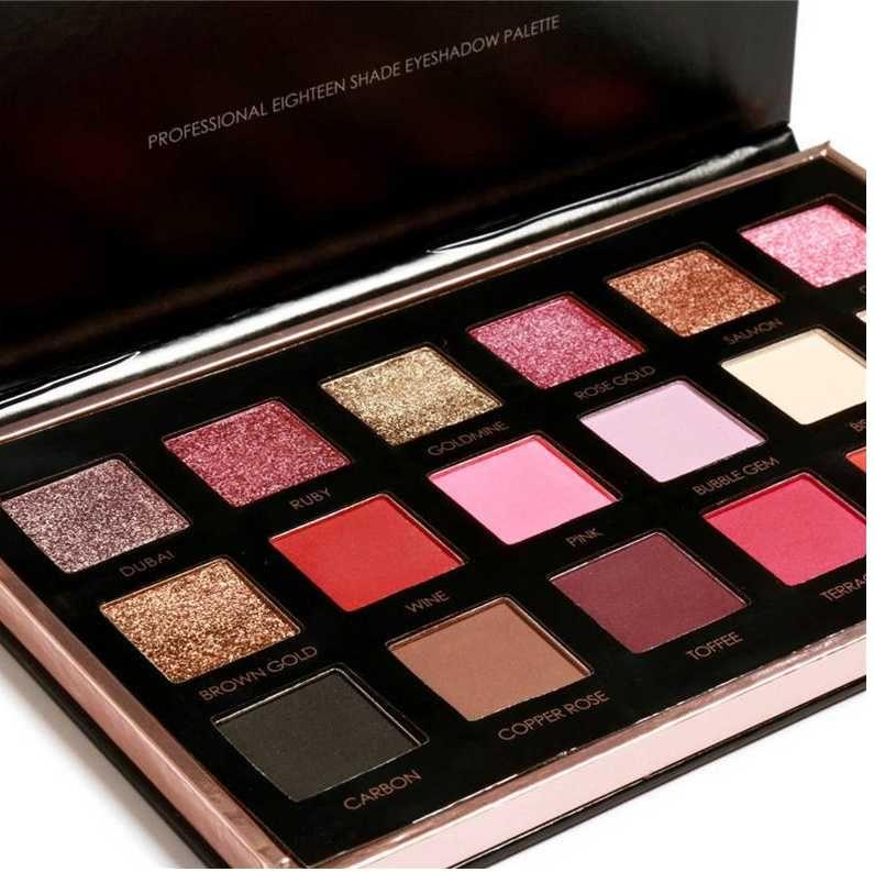 FOCALLURE Eyeshadow Palette Matte Diamond Glitter Matallic Eye Shadow in One Palette Blush Makeup Set for Beauty DHL Free