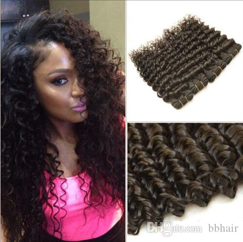 Natural looking unprocessed human hair extensions deep wave virgin see larger image pmusecretfo Gallery