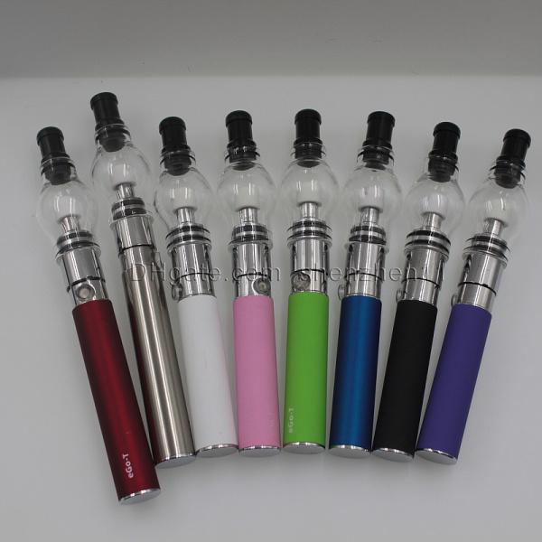 Ego t starter kit with glass globe atomizer vapor globe atomizer best vape pen vaporizer wax atomizer perfume bulb clearomizer CA0005