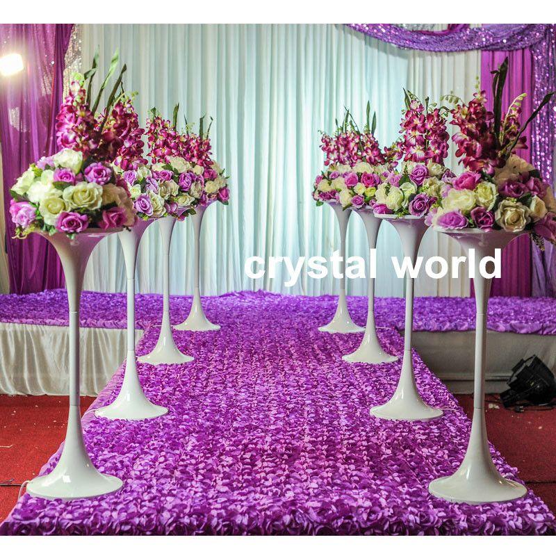 Elegant And Affordable Wedding Flower Ideas We Love: Elegant Beautiful Silver Flower Bowl, Silver Flower Vase