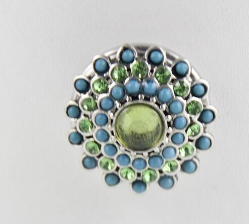 18mm Faceted crystal snap button with High quality alloy rhinestone botton fit snaps jewelry partnerbeads com