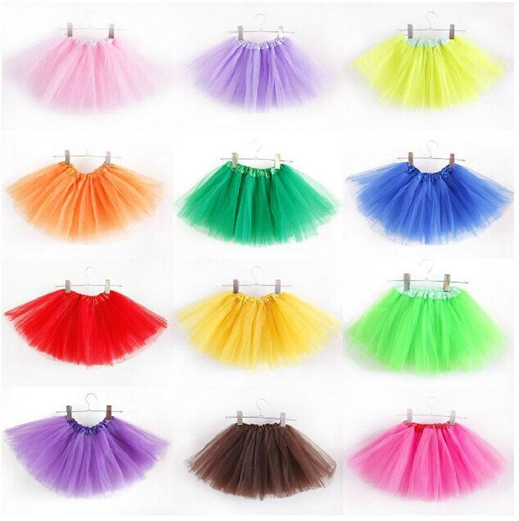 Online Cheap Baby Tutu Skirts Pettiskirt Girls For Kids Chiffon Ruffles Party Ballet Dance Wear Skirt Costume By