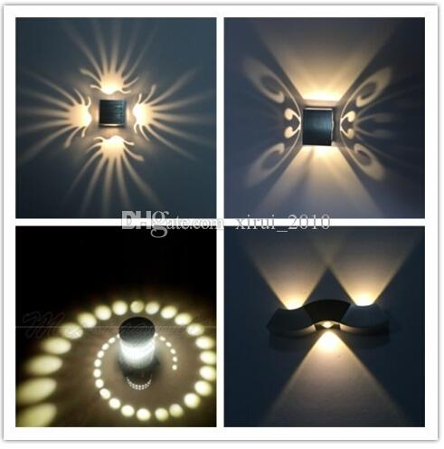 unique wall lighting. Plain Lighting 2018 2016 Hot Led Wall Lamp Unique 3w Hallway  Spot Light Warm White Cold From Xirui_2010 7036  DhgateCom With Lighting