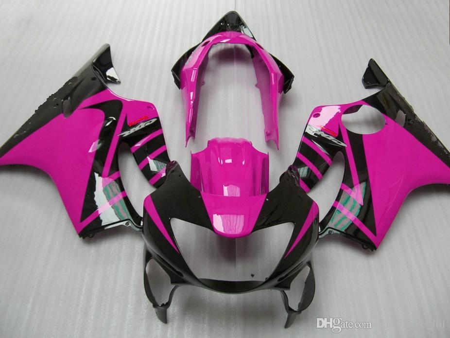 Honda Enjeksiyon grenaj 99 00 CBR 600 F4 kaporta kiti CBR600 F4 1999 2000 OVXS için yeni küpe siyah Özelleştir kaporta