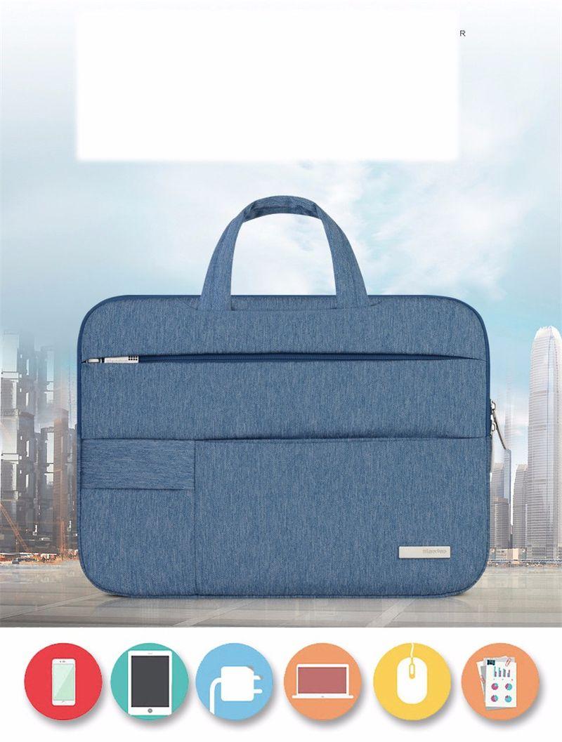 Portable Notebook Handbag Air Pro 11 12 13 14 15.6 Laptop Bag/Sleeve Case For Dell HP Macbook Xiaomi Surface pro