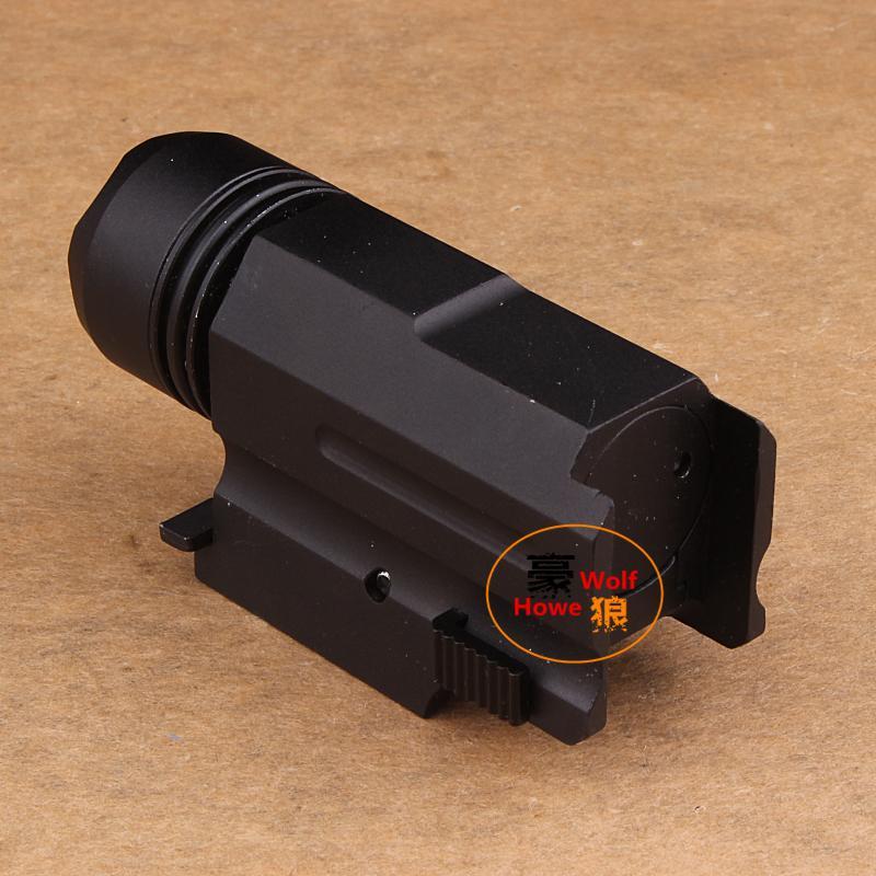 Gun Light 800LM CREE XP-G XPG R5 LED de aluminio impermeable antorcha linterna táctica adecuada para Picatinny Rail