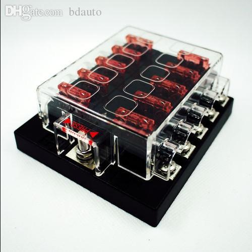 wholesale 10 way blade fuse box amp bus bar wholesale 10 way blade fuse box & bus bar kit car boat marine