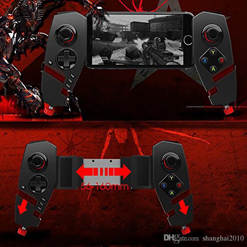 IPEGA PG-9055 Red Spider Sem Fio Bluetooth Gamepad Telescópica Game Controller Joystick Jogo Para Android IOS Tablet PC