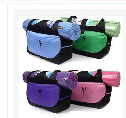 Yoga Mat Bag Waterproof Backpack Shoulder Messenger Sport Clothes Duffel Bag For Womens Fitness Gym Bag Moderate Price no Yoga Mat