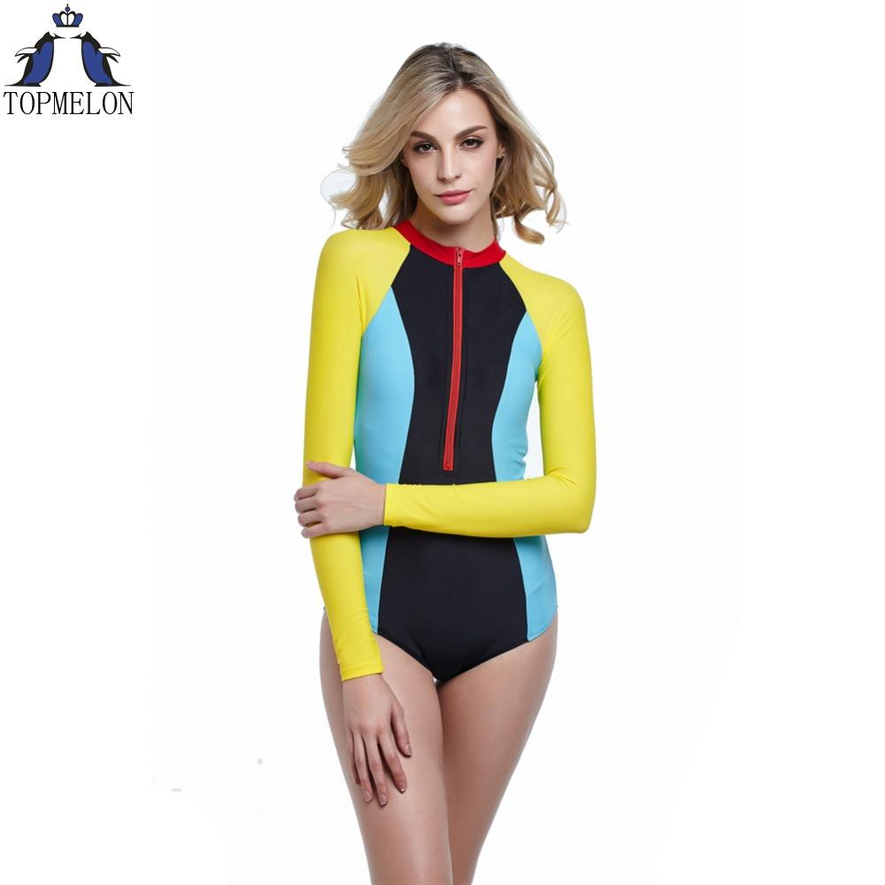 92ca5736da0c2 2019 Wholesale Long Sleeve Swimwear One Piece Swimsuit Sexy One Piece Swim  Suits Plavky Swimwear Monokini Swimsuit Bathing Suit Female From Sandlucy,  ...