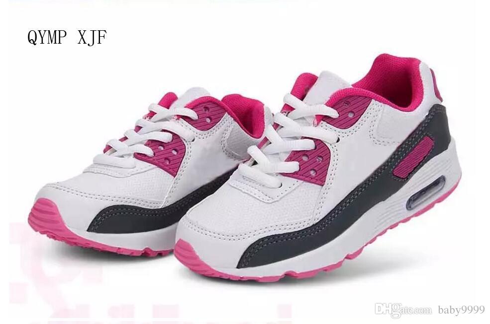 Compre Zapatos Para Niños 2018 NIKE New Fashion Kid Niños Niñas Y Niños  Zapatos Deportivos Zapatillas Para Niños Talla 21 25 A  20.26 Del Baby9999   7797830747d97