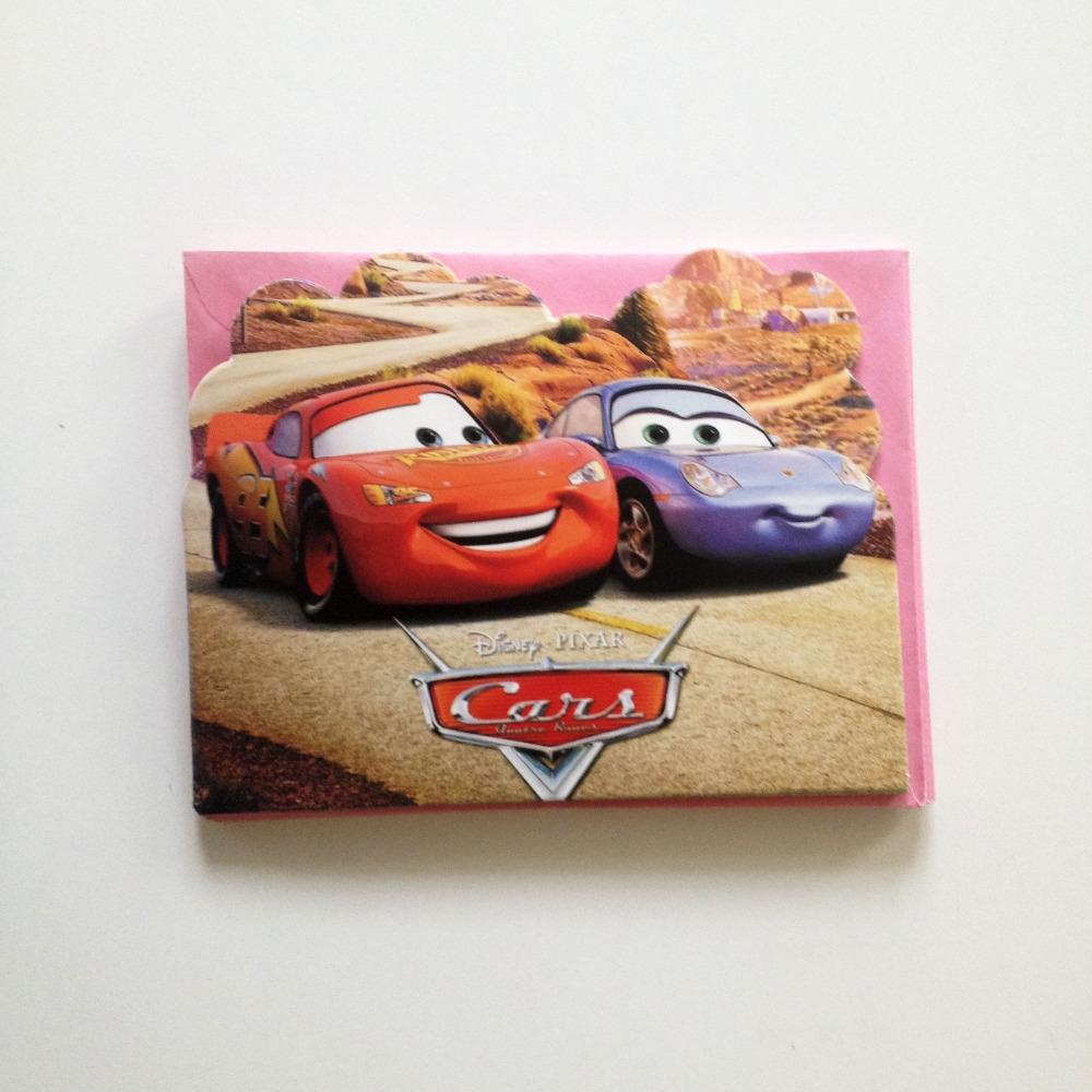 Wholesale Two Cars Theme Birthday Party Supplies And Party