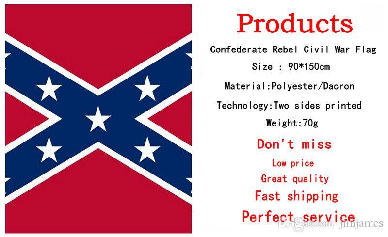 Правда о Конфедерации боевых флагов с двух сторон печатных флаг Конфедерации повстанцев Гражданской войны флаг национальный полиэстер флаги 5X3FT