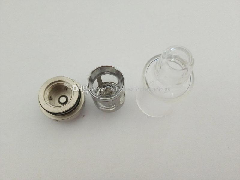 Искра испаритель воск кварцевые катушки атомайзер фитиль стеклянная камера нагревательный элемент испаритель без катушки поколения 2 против сковороды пушки глобус