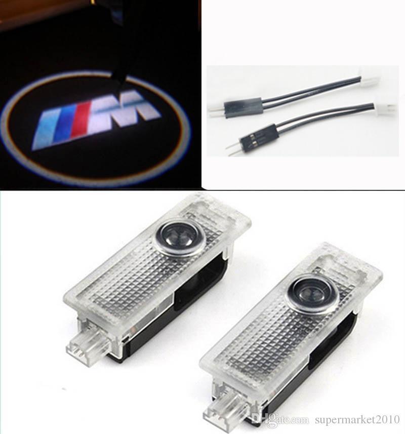 LED Door light car Welcome Light Logo Projector For BMW M E60 E90 F10 GT X5 X6 X3 Z4 E85 M5 door light