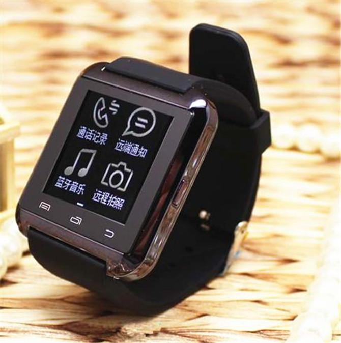 Bluetooth Smart Watch U8 Reloj Smartwatch de pulsera para iPhone 4 4S 5 5S 6 6S 6 más Samsung S4 S5 Note 2 Note 3 HTC Android Phone Smartphones