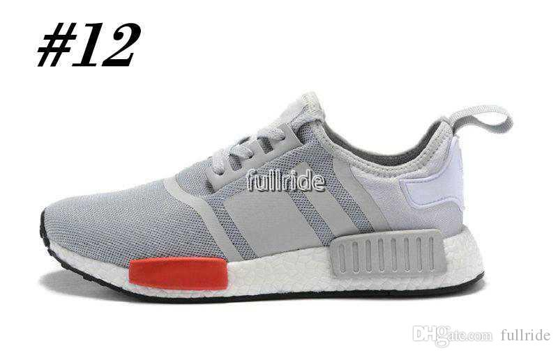 Runner R1 PK Primeknit OG Black Triple White Nice Kicks Circa Knit Men Women Running Shoes Sneakers Originals Classic Casual Shoes