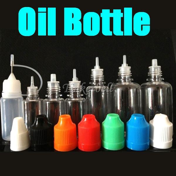 2015 جودة عالية رقيقة طويلة الفم بالقطارة زجاجة بلاستيكية الطفل والدليل زجاجات إبرة طويلة زجاجات النفط دخان الأنف شحن مجاني