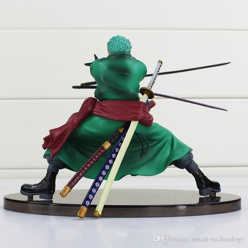 Jeden kawałek Roronoa Zoro PVC rysunek zabawka decydująca wersja bitwy PVC Figurka Kolekcja Model Zabawka