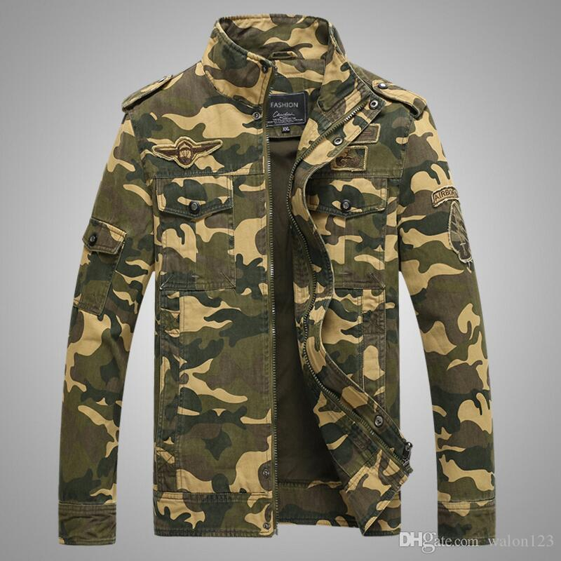 29e87b3cfd1f5 Men Jackets And Coats Air Force 1 Tactical Jackets Man Clothing ...