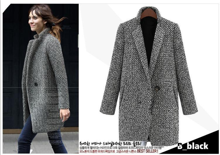 Best Autumn Women Cool Long Sleeve Overcoat Cardigan Single ...