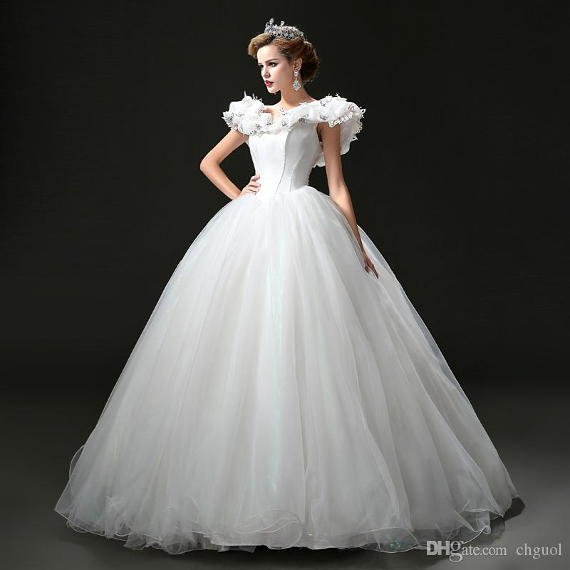Attractive Cinderella Bridal Gowns Ideas - Ball Gown Wedding Dresses ...