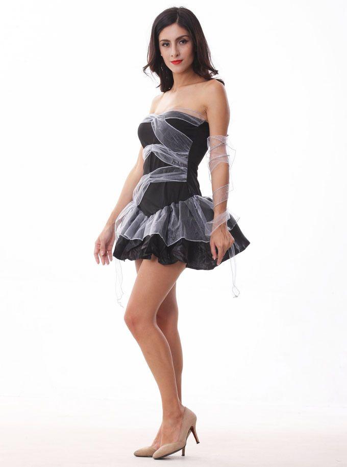 Femmes Halloween Cosplay Vampire Costumes Zombie Decadence Dark Ghost style de mariée discothèque Night Princess robe de vêtements de Noël DK7802CP