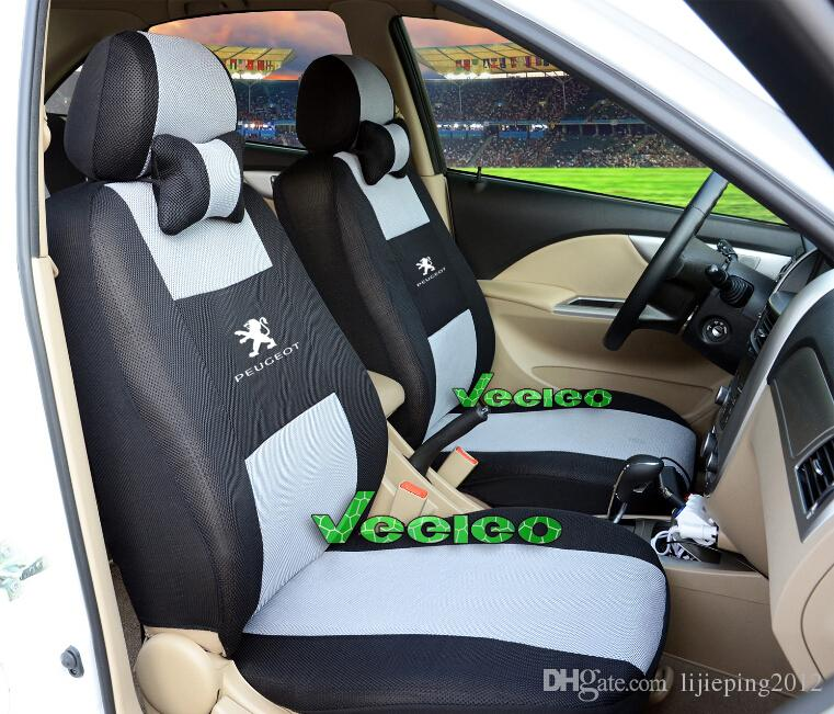 Universal Seat Cover For PEUGEOT 206 207 301 307 308 408 508 607 ...