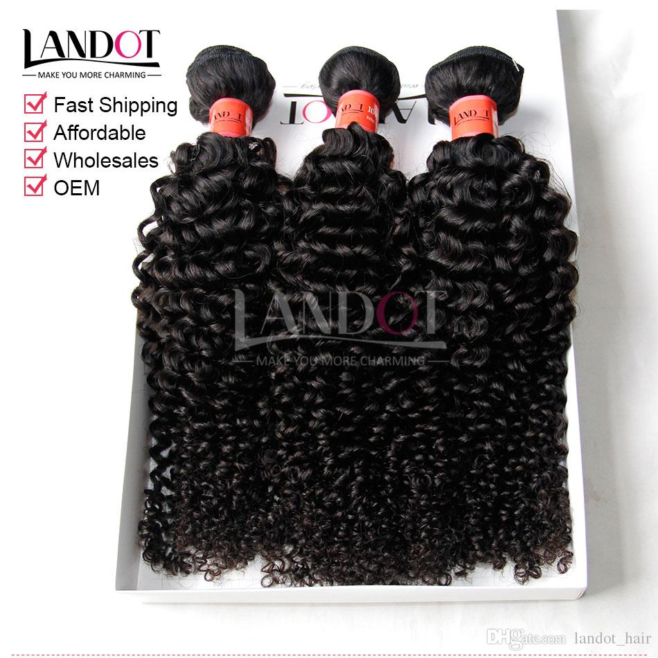 브라질 곱슬 머리카락 인간의 머리카락 Weaves 3 묶음 처리되지 않은 8A 페루 말레이시아 인디언 캄보디아 몽골어 제리 킨키 컬 헤어 익스텐션